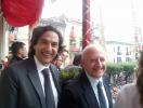 Enzo Alaia ed il governatore De Luca